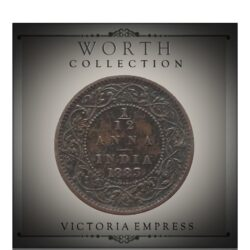 1883  1/12 Twelve Anna British India Queen Victoria Empress - Worth Buy