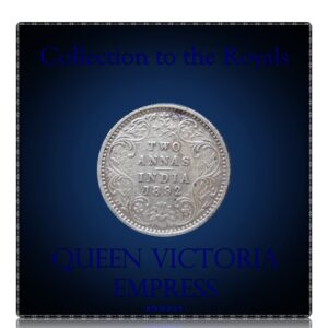 1892 Two Annas B incused - Queen Victoria Empress - Worth Collecting