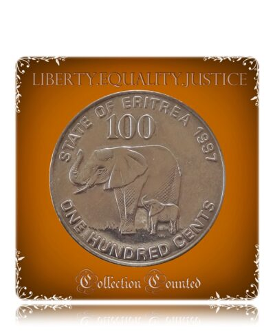 1991 State of Eritrea / 1997 100 One Hundred Cents