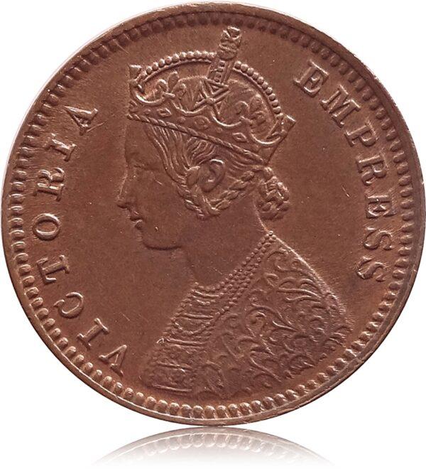 1901 1/12 Twelve Anna British India Queen Victoria Empress