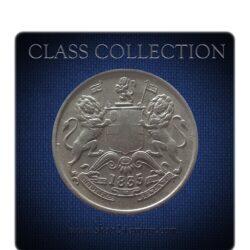 RARE 1835 1/2 Half Anna Coin
