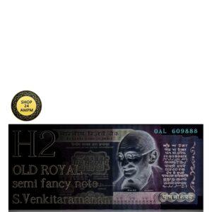 500 Rupee UNC Note Plain Inset Sign by S. Venkitaramanan - RARE