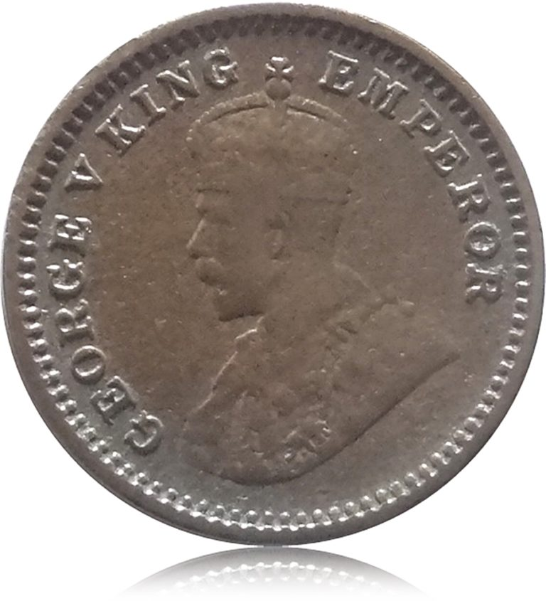 1917 1 /12 King George Emperor V with Extra 5 Metal Coin