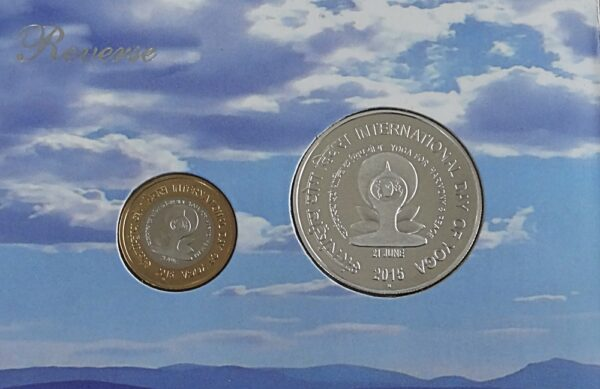 2015 Proof Coins Set - International Day of Yoga