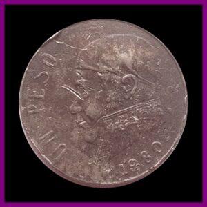 1980 U N PESO MEXICANOS TOKEN COIN