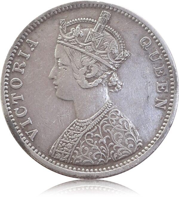 1862 1 Rupee Queen Victoria British India