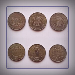 1967 10 cents 3 coins - Somali Republic - Best Buy
