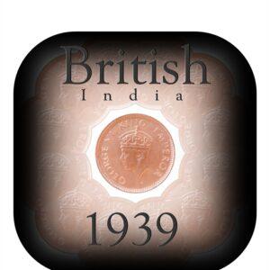 1939 1/12Twelve Anna British IndiaKing George VI
