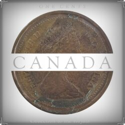 1985 Queen Elizabeth II 1 Cent Canada Coin