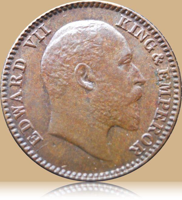 1909 1/12Twelve Anna British IndiaKing Edward VII