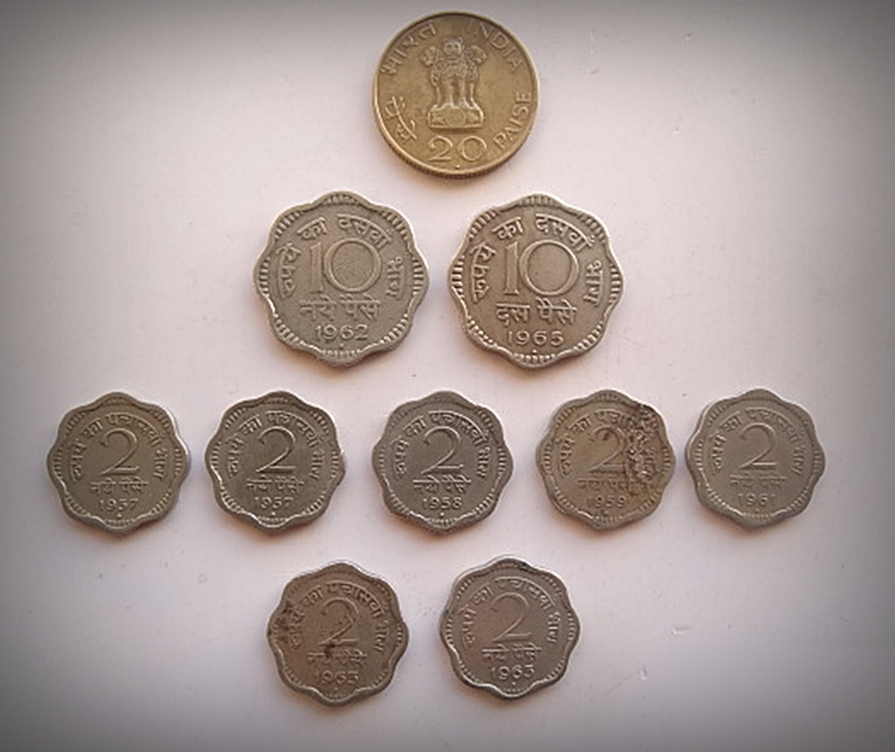 10 Republic Indian Coins - Best Buy
