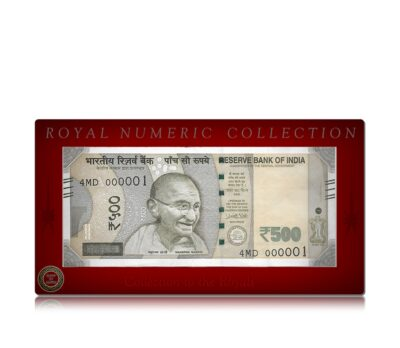 Royal Numeric Collection of  500 Rupee UNC Note