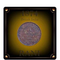 1874 1/12 Twelve Anna Queen Victoria