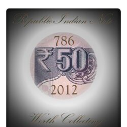 "50 Rupee UNC Note D Subbarao Ending Number ""786"""