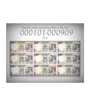2012 50 Rupee UNC Note Sign by D Subbarao