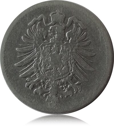 1874 1 Mark  H Deutschland J9 1 Mark H BU