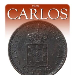 1901 1/8 TangaCarlosIndian Portuguese Coin