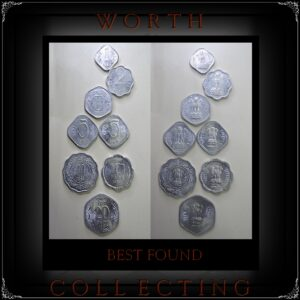 1965 1968 1980 1983 1984 1986 1988 1 Paisa 2 Paise 3 Paise 5 Paise 10 Paise 20 Paise - 8 Coins - Worth Collecting