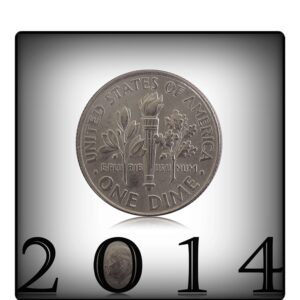 2014 One Dime Roosevelt USA Coin