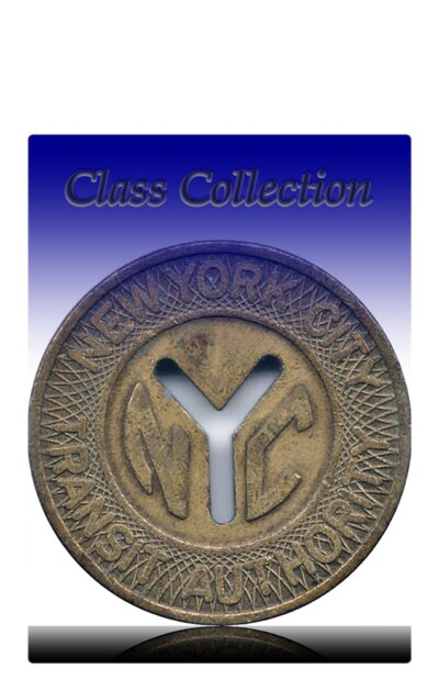 Old Vintage Token Coin -New York City - Transit Authority Collection