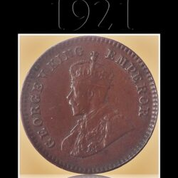 1921  1/12 Twelve Anna British India King George V