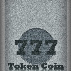 777 Old Vintage Token Coin
