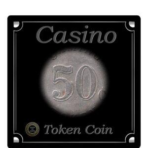 CM Casino Monrovia Gaming Token Coin