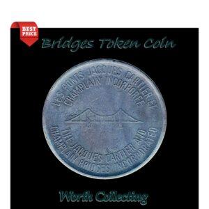 Jacques Cartier Et - Champlain Bridges In Corporated -Token Coin