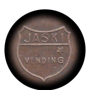Jaski Old Vintage Token Coin