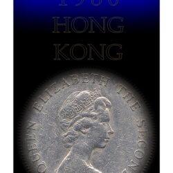1980 1 One Dollar - Hong Kong  Coin