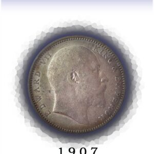 1907 1 Rupee British India King Edward VII