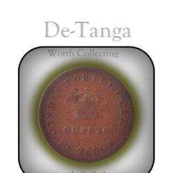 1881 1/4 Tanga - Quarto De Tanga 15 Reis