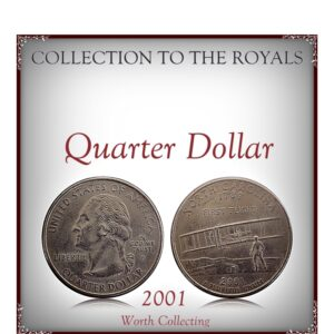 2001 Quarter Dollar U.S.A North Carolina Coin