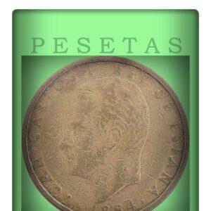 100 Pesetas - Juan Carlos I Aluminium-Bronze Coin of Spain
