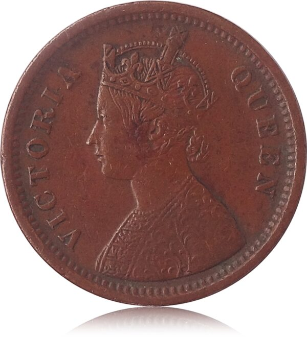 1862 1/2 Half Pice Coin Victoria Queen