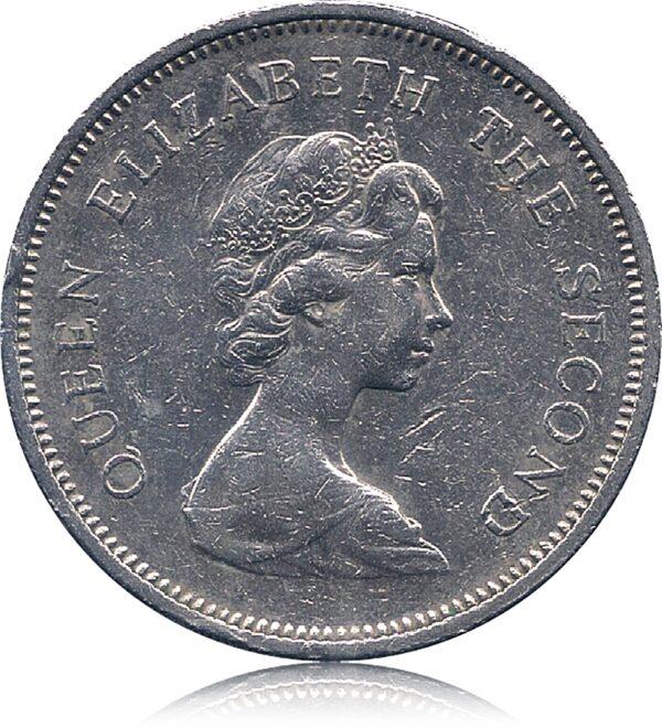 1980 Hong Kong 1 Dollar - Queen Elizabeth II