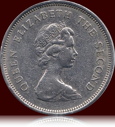 1980 Hong Kong 1 Dollar - Queen Elizabeth II