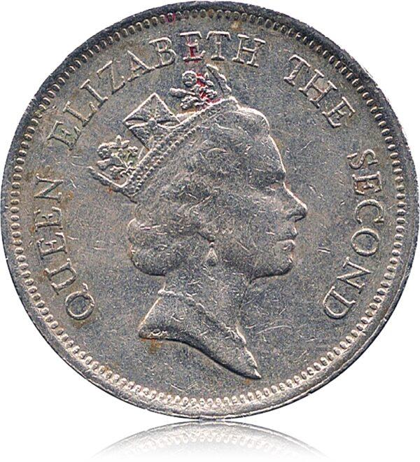 1990 1 One Dollar - Hong Kong Coin
