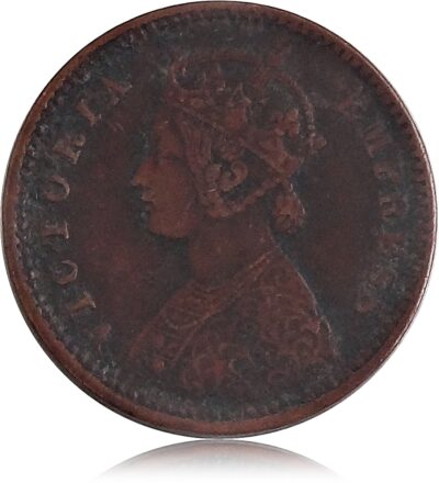 1886 1/12 Twelve Anna Queen Victoria Empress British India