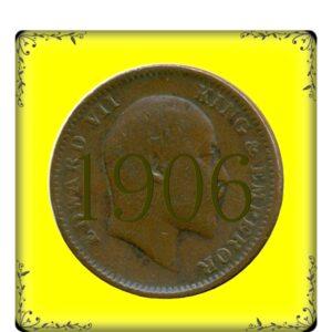 1906 1/4 Anna King Edward