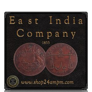 1833 East India Company Quarter Anna- Best Value