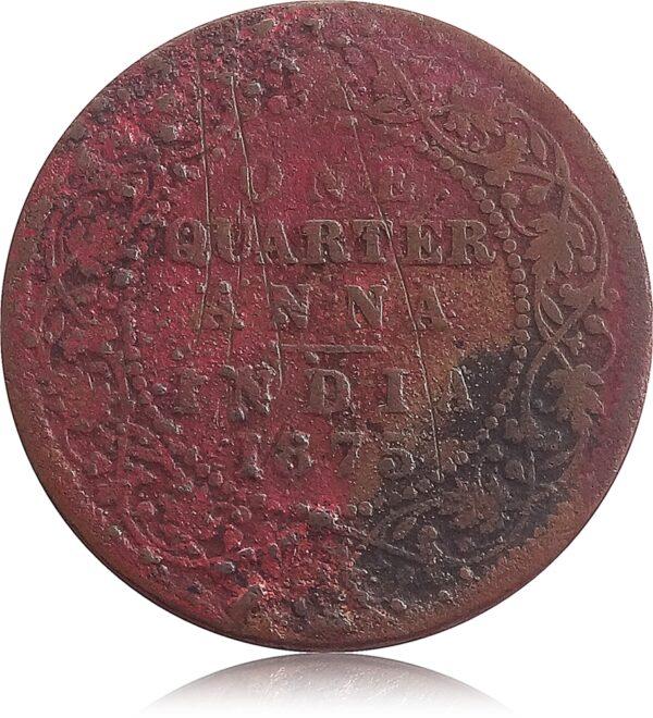 1875 Quarter Anna
