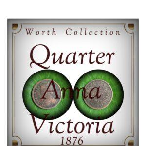 1876 Quarter Anna Best Value Online