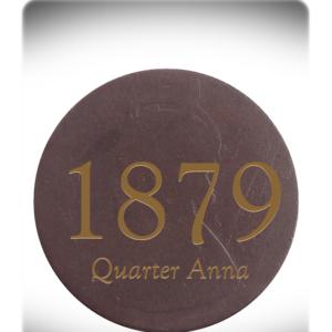 1879 Quarter Anna