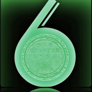 1906 Edward VII One Quarter Anna Calcutta Mint Coin