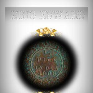 1906 Half Pice Bronze Coin King Edward VII