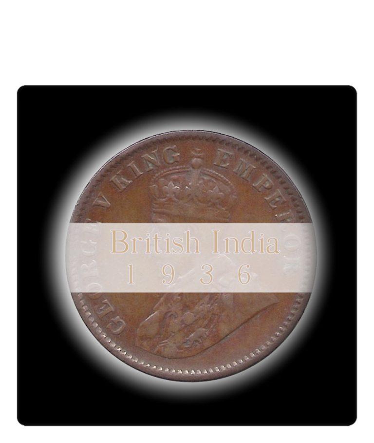 1936 Quarter Anna King copper coin value