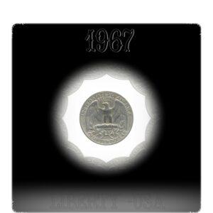 1972 Quarter Dollar United States of America Coin