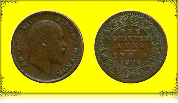 1906 1/4 Anna King Edward VII
