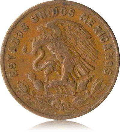 1970 Estados Unidos Mexicanos 20 Centavos